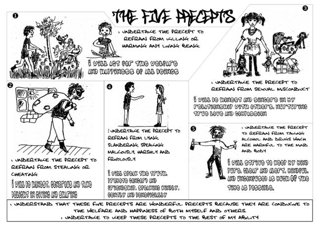 five+precepts+flyer